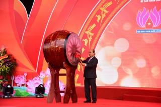 Thủ tướng Chính phủ Nguyễn Xuân Phúc dự khai mạc Hội báo toàn quốc năm 2019