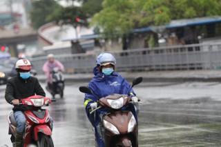 Đêm 16-3, Hà Nội mưa phùn, trời rét, Tây Nguyên và Nam Bộ đề phòng lốc, sét và gió giật mạnh