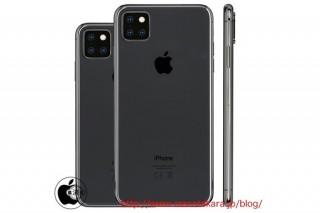 iPhone 11 5,8 inch sẽ trang bị cụm 3 camera vuông