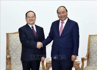Thủ tướng tiếp Bí thư Đảng ủy Khu tự trị dân tộc Choang Quảng Tây, Trung Quốc