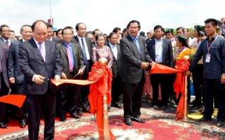 Sẽ nâng cấp cặp cửa khẩu Khánh Bình - Chrey Thom thành cửa khẩu quốc tế