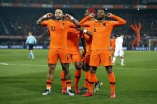 Kết quả vòng loại Euro 2020 rạng sáng ngày 22-3: Bỉ, Hà Lan đại thắng