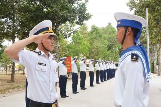 Tự tin rèn luyện trong môi trường quân ngũ