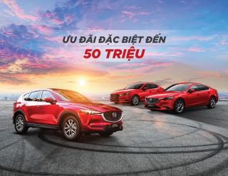 Khách hàng hưởng nhiều lợi ích khi mua xe Mazda trong tháng 3