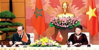 Củng cố, phát triển quan hệ hữu nghị, hợp tác nhiều mặt với Maroc