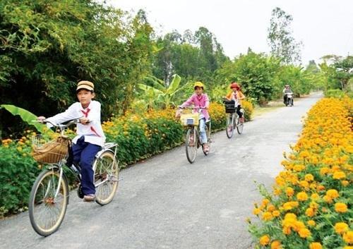 2 huyện, thị xã của tỉnh Trà Vinh cán đích nông thôn mới