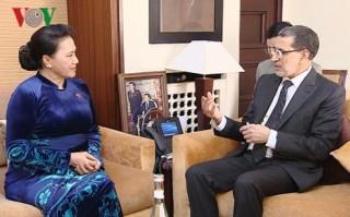 Chủ tịch Quốc hội hội kiến Thủ tướng Vương quốc Maroc