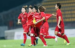 Tuyển nữ Việt Nam thắng Hong Kong ở vòng loại Olympic