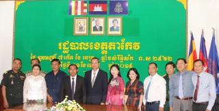 Các hoạt động thăm hỏi, chúc Tết Chol Chnam Thmay