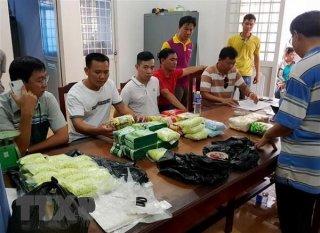 Bắt giữ  26,6kg ma túy vận chuyển từ Campuchia về Việt Nam qua biên giới An Giang