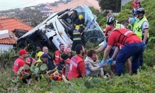 Tai nạn xe buýt ở Bồ Đào Nha, ít nhất 28 du khách Đức thiệt mạng