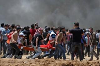 Đụng độ tại Gaza, ít nhất 48 người bị thương