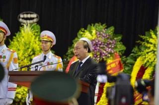 Toàn văn lời điếu tại Lễ truy điệu nguyên Chủ tịch nước Lê Đức Anh