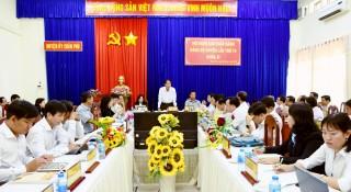 Hội nghị Ban Chấp hành Đảng bộ huyện Châu Phú lần thứ 16