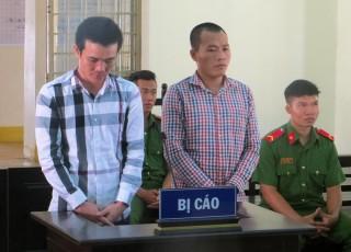2 đối tượng cướp giật tại phà Vàm Cống lãnh án 4 năm tù