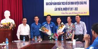 Đồng chí Nguyễn Ngọc Đầy được bầu giữ chức Bí thư Huyện đoàn Châu Phú, khóa XI, nhiệm kỳ 2017-2022
