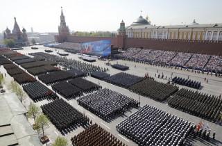 13.000 binh sĩ duyệt binh tại Quảng trường Đỏ mừng Ngày Chiến thắng
