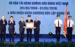 Thủ tướng Nguyễn Xuân Phúc dự Lễ kỷ niệm 60 năm thành lập Đoàn bay 919