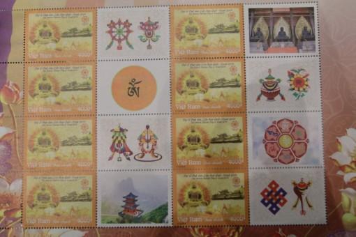 Phát hành bộ tem và đồng xu bạc chào mừng Đại lễ Phật đản Vesak 2019