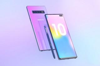 Galaxy Note 10 sẽ có tỷ lệ khung hình 19:9