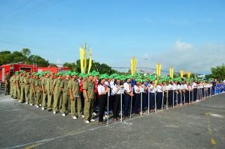 Công ty TNHH MTV Xăng dầu An Giang đoạt hạng nhất Hội thao PCCC huyện Tịnh Biên năm 2019