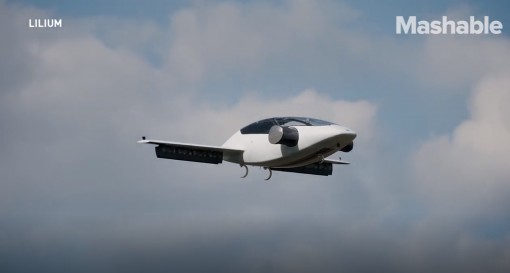 Mẫu 'taxi bay' của Lillium hoàn thành chuyến bay thử nghiệm đầu tiên