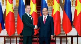 Thủ tướng thăm Nga: Phát triển mạnh mẽ Đối tác chiến lược toàn diện