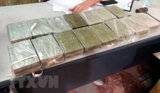 Bắt giữ vụ vận chuyển heroin lớn nhất từ trước đến nay tại Hải Dương