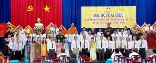 61 ủy viên tham gia UBMTTQVN huyện Tri Tôn nhiệm kỳ 2019 – 2024