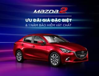 Mazda2: Chiếc xe an toàn đáng sở hữu