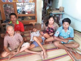 Cảnh nghèo khó của một gia đình