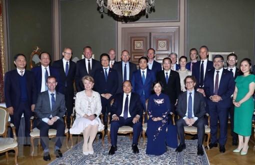 Mong muốn doanh nghiệp Thụy Điển đầu tư nhiều hơn vào Việt Nam