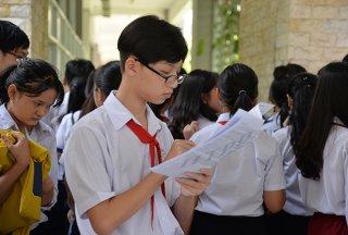 Hơn 22.400 học sinh dự Kỳ thi tuyển sinh lớp 10