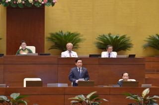 Quốc hội chất vấn Bộ trưởng Bộ GTVT Nguyễn Văn Thể