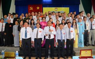 Hoàn thành Đại hội đại biểu MTTQVN cấp huyện nhiệm kỳ 2019 - 2024
