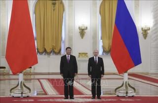 Nga -Trung sẽ tăng cường hợp tác chiến lược, bảo vệ ổn định khu vực và toàn cầu