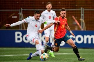 Vòng loại EURO 2020: Tây Ban Nha 'dạo chơi' tại đảo Faroe