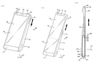 Samsung tính làm smartphone màn hình cuộn tròn