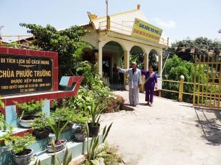 Yêu cầu giữ ngôi nhà trong khuôn viên chùa Phước Trường