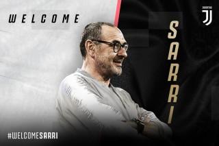 Maurizio Sarri trở thành tân huấn luyện viên trưởng của Juventus