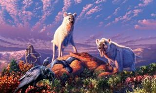 Hóa thạch tiết lộ loài linh cẩu từng sống ở vùng Bắc Cực