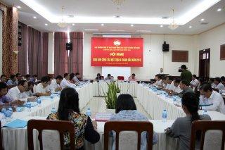 Hội nghị giao ban công tác mặt trận 6 tỉnh Nam sông Hậu