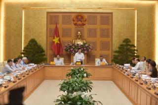 Phó Thủ tướng chủ trì phiên họp chống khai thác hải sản trái phép