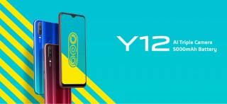 """Ra mắt smartphone giá rẻ Vivo Y12, pin """"khủng"""" 5000 mAh"""