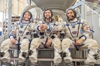 Phi hành đoàn tàu vũ trụ của Nga trở về Trái Đất an toàn