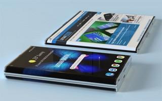 Samsung nghiên cứu điện thoại màn hình cong có thể uốn dẻo