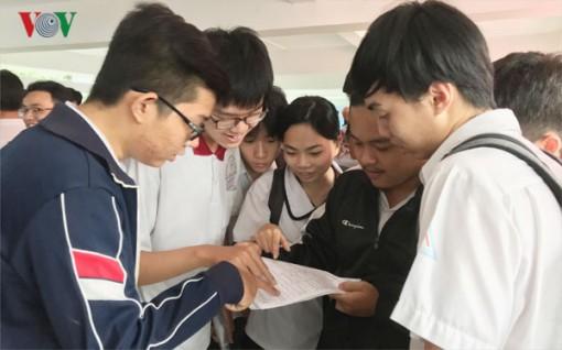 Thi THPT Quốc gia 2019: Thí sinh làm bài thi tổ hợp Khoa học tự nhiên
