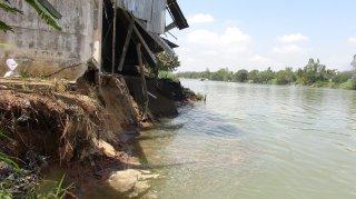 Ban bố tình huống khẩn cấp sạt lở đê Bắc kênh xáng, xã Tân An