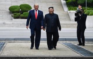 Cuộc gặp Mỹ-Triều tại DMZ: KCNA ca ngợi cuộc gặp lịch sử