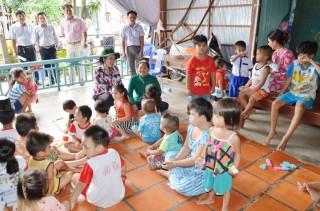 Đề phòng đuối nước trẻ em